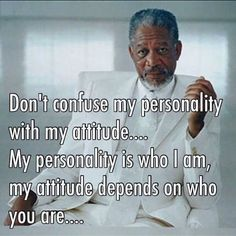 Morning. Don't confuse my personality with my attitude towards you  #elmens #caironightlife #quotes #quote #quotestoliveby #love #quotestags #nofilter #inspiration #quoteoftheday #life #quotesoftheday #quotestagram #words #funny #inspire #instaquote #motivation #quotesaboutlifequotesandsayings #smile #tweegram #word #writer #loveit #lovequotes #reading #readit #realtalk #tagsta #truestory