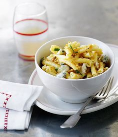 Campanelle with Walnuts, Ricotta, and Lemon | Recipe | Ricotta, Lemon ...