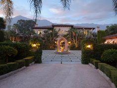 Tour an Old World-Style Estate in Montecito, Calif.   HGTV.com's Ultimate House Hunt >> http://www.hgtv.com/design/ultimate-house-hunt/2015/curb-appeal/curb-appeal-old-world-style-estate-in-montecito-california?soc=pinhuhh