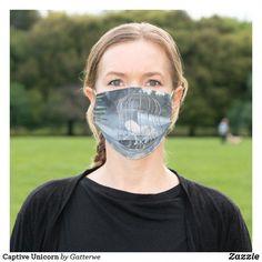 Captive Unicorn Cloth Face Mask #CleansingMask Diy Mask, Diy Face Mask, Face Masks, Peel Off Mask, Pocket Pattern, Fashion Face Mask, Halloween Masks, Go Shopping, Household Items