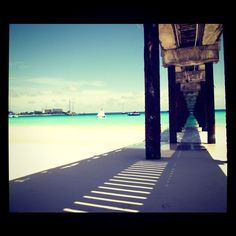 Barbados is calling me - The pier at the Boatyard!