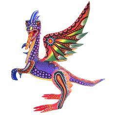 Dragón de cresta - un regalo mexicano excepcional ¡ envío gratis a todo México!