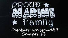 Proud Marine Family