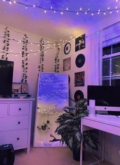 Cute Room Ideas, Cute Room Decor, Neon Room Decor, Indie Room Decor, Chill Room, Cozy Room, Retro Room, Room Ideas Bedroom, Bedroom Inspo