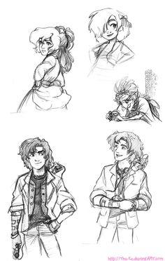 Class Sketches Dump - March 2013 by The-Ez.deviantart.com on @DeviantArt