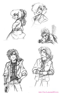 Class Sketches Dump - March 2013 by The-Ez.deviantart.com on @DeviantArt