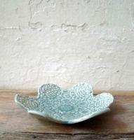Flower round soap dish