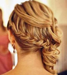 Wedding hair style for long hair