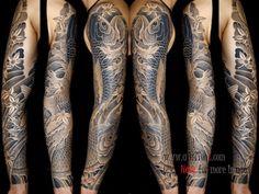 Full Arm Sleeve Tattoos #Fullarmtattoos #FullTattoos #HandTattoos