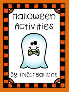 Your students will love this fun Halloween activities packet and will save you time and money! In the packet you will receive several printable worksheets and activities: A Favorite Halloween Memory and Costume Worksheet, A Guess My Costume Worksheet, 7 Coloring Pages and more!