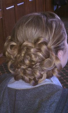 Bridesmaid hair...