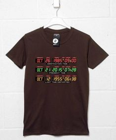 2015 Dashboard T Shirt - Dark Chocolate / Small