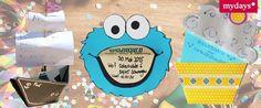 Einladungen Kindergeburtstag selber basteln. Lustig, cool und supereinfach.