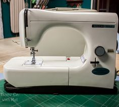 Necchi Lydia Type 544 Sewing Machine Review - The Quilting Room with Mel