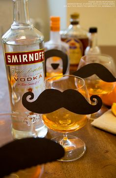 This classic cocktail made easy with Smirnoff Orange is the perfect drink for your early winter gathering or mustache themed party.