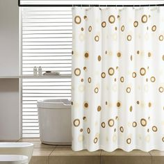 Elegant Home Fashions Abstract Shower Curtain - SC-2310