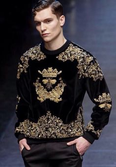 Dolce & Gabbana FW 2015 Menswear // MFW (Details)