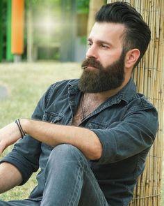 Hairy Men, Bearded Men, Beard Suit, Badass Beard, Perfect Beard, Nice Beard, Beard Haircut, Beard Lover, Hair Tattoos
