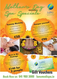 Wondering what to get your Mum for #Mother'sDay on March 15, 2015? Why not treat her with choice of our specially prepared #Beauty & #SpaPackages. Spoil her at one of these spas - Mum & Me Package for 2 people, Yummy Mummy OR Pamper Yourself. All these packages are designed to leave your mum feeling pampered & appreciated with a combination of body, face & hand treatments. You can also choose from our full range of Day #Spa treatments from LaNu Medi Spa after all every mum is different. Bath Bombs Scents, Spa Packages, Yummy Mummy, For Lash, Spa Treatments, Spas, March, Range, Gift Ideas