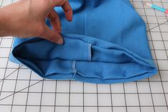 Tutorial: How to sew a blind hem  |  Colette Blog