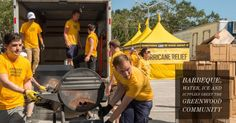 Barbeque, Water, Ice and Supplies Greet the Greenwood Community Post #Irma #Clearwater http://qoo.ly/ihkbt