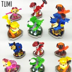 #AliExpress 6 Pcs New Canine Patrol Dog Toys Russian Anime Doll Action Figures Car Patrol Puppy Toy Patrulla Canina Juguetes Gift P026 (32808419290) #SuperDeals