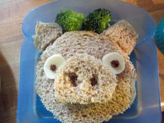 really cute. Sandwich Art: A Mom's Awesome School Lunch Project