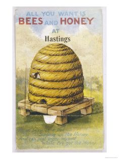 Bee hive poster