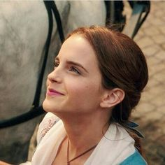 """Belle's father:""""What should I bring you from the market?"""" Belle: """"A rose; like the one in the painting."""""""