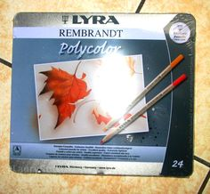 crayons de couleur LYRA REmbrandt polycolor @LauryRow   Like my page here ::  https://www.facebook.com/merveillesdetentesdelaury?fref=ts