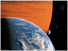 Astronomers believe alien life may exist on exoplanet moons (Photo: R. Heller, AIP)