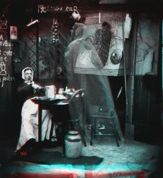 3D Images - Spooky Victorian Ghost Photos 01