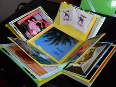 This photo box is so cute and a great gift for friends and family.