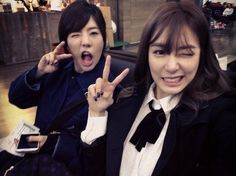 "Girls' Generation Tiffany & Sunny, Cute Selfie ""Off To Shanghai"" http://www.kpopstarz.com/articles/125310/20141018/girls-generation-tiffany-sunny-cute-selfie-off-to-shanghai.htm"