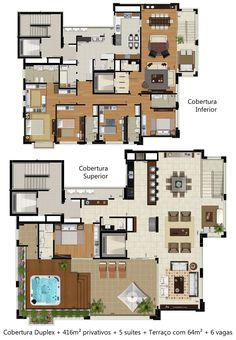Apartment Floor Plans, House Floor Plans, Freddie Mercury House, Drawing House Plans, Casas The Sims 4, Beautiful Houses Interior, Apartment Layout, House Blueprints, House Layouts