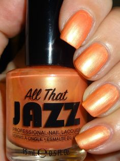 Wendy's Delights: All That Jazz Nail Lacquer - My Peach Bellini @moyounails