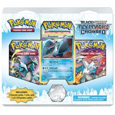 "Pokemon Black & White 7 (3Pk) Dbl Blister - Pokemon USA - Toys ""R"" Us"