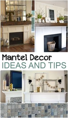 Mantel Decor Ideas and Tips. Great home decor ideas for decorating your mantel. Mantel Decor Ideas and Tips. Great home decor ideas for decorating your mantel. Fireplace Mantel Decor, House Design, House, Remodel, Home Remodeling, New Homes, Home Decor, Fireplace, Fireplace Makeover