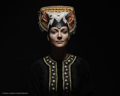Petra Lajdova Photography 'Slovak Renaissance' Exhibition of Slovak traditional wedding costumes and headwear Tekov cepiec 1981 The Costumer, Wedding Costumes, Art Prints For Sale, Married Woman, Folk Costume, Traditional Wedding, Headdress, Color Patterns, Renaissance