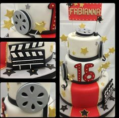 S Hollywood Cake, Cake Decorating, Ideas, Thoughts