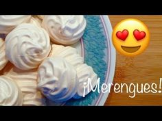 ¡Hagamos merengue francés! - Receta básica y super fácil :) - YouTube Pudding, Youtube, Desserts, Food, Recipes, French Nails, How To Make, Tailgate Desserts, Deserts