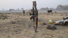 Sudan Południowy pełen broni
