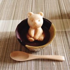 """Or too sweet to eat! Order """"Kuma Midsummer"""" from Miyoshiya, Hokkaido - - Japanese Sweets, Japanese Food Art, No Cook Meals, Kids Meals, Japanese New Year, Bear Art, Japanese Culture, Cute Food, Cakes And More"""
