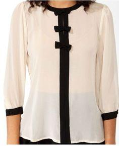 el último 2013 nuevos modelos de las señoras blusa de gasa - spanish.alibaba.com