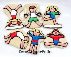 gymnast cookie