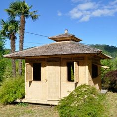 "Cabane bambou modèle ""Zen"" Zen, Gazebo, Architecture, Outdoor Structures, Projects, Design, Inspiration, Gardens, Balinese Garden"