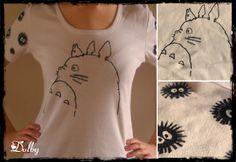 Diy: totoro tshirt
