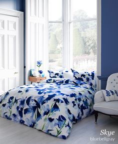 The bluebellgray bedding collection launched in Peter Jones and Oxford Street John Lewis stores.  Now available in the bluebellgray online shop and more John Lewis stores soon - please contact your local store to check availability.