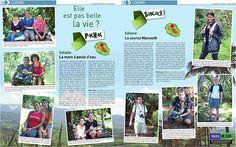 Parution du 10 mars 2012 - Piknik: L'ilet Coco, à Bras-Canot, Saint-Benoît - Sakado: le sentier des cordistes à la Montagne - Ile de la Réunion