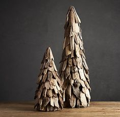 Trees from driftwood